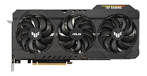ASUS TUF Gaming NVIDIA GeForce RTX 3080 Ti OC Edition – Carte Graphique gaming (PCIe 4.0, 12GB GDDR6X, HDMI 2.1, DisplayPort 1.4a, double roulement à billes, robustesse militaire, GPU Tweak II)