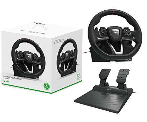 Volant de course et pédales XBOX ONE/PC Compatible Series X/S Sous licence XBOX 'Racing Overdrive'