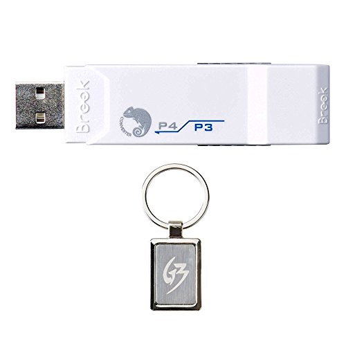 Gam3Gear Brook Super Converter PS3 to PS4 Controller Gaming Adapter with FREE Keychain by Brook