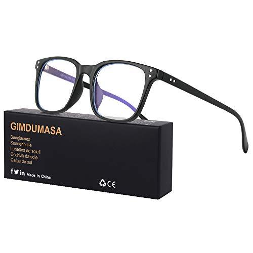 Gimdumasa lunettes gaming pc anti uv lumiere bleue filtre ordinateur homme femme GI799