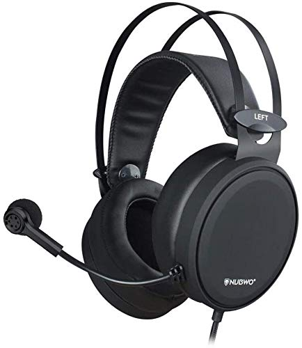 NUBWO Casque de Gaming PS4, N7 stéréo Xbox One Casque Filaire PC Gaming...