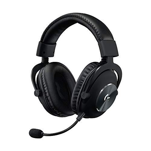 Logitech G PRO X Casque Gaming Over-Ear avec Micro BLUE VO!CE, DTS Headphone:X 7.1, Transducteurs PRO-G 50mm, Son Surround 7.1 pour Gaming Esport, PC/PS/Xbox/Nintendo Switch - Noir