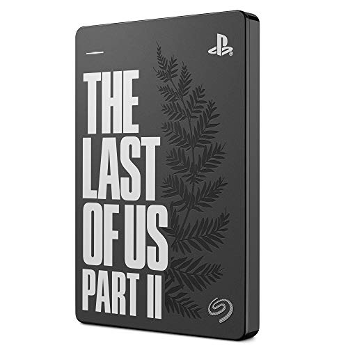 Seagate Game Drive pour PS4, 2 To, The Last of Us II Special Edition, Disque Dur Externe Portable, 2,5', USB 3.0, compatible avec PS4 et PS5 (STGD2000202)
