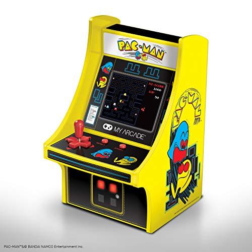 My Arcade - Mini Borne d'Arcade Pac-Man Rétro Arcade ,, Jaune