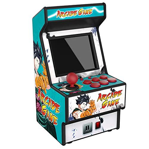 Mini machine de jeu d'arcade RHAC01 2.8Inch 156 Machine de jeux portable classique pour enfants avec écran protégé des yeux (ANGLAIS SEULEMENT)