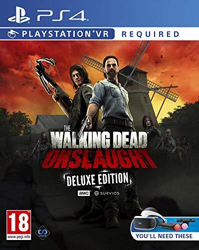 TheWalkingDeadOnslaught The Golden Weapons Deluxe Pack PS4 VR Requis...