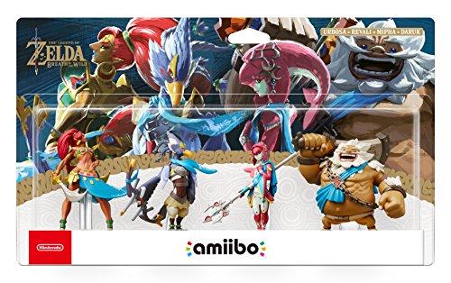 Amiibo 'Collection The Legend of Zelda' - Daruk + Mipha + Revali + Urbosa...